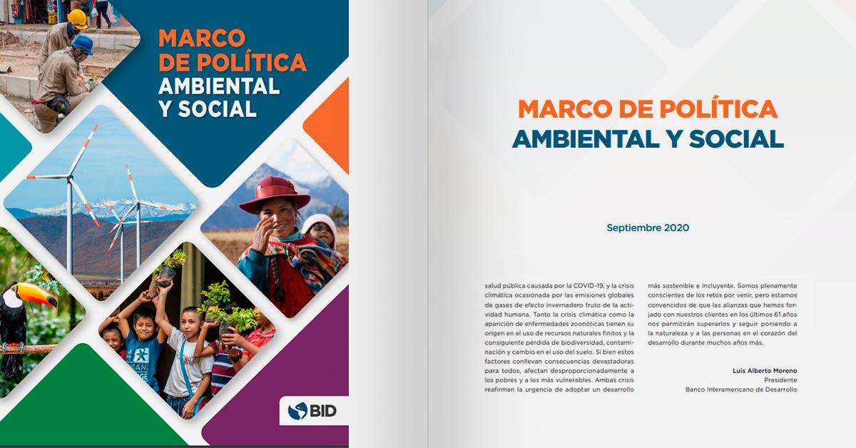 Marco de Política Ambiental y Social