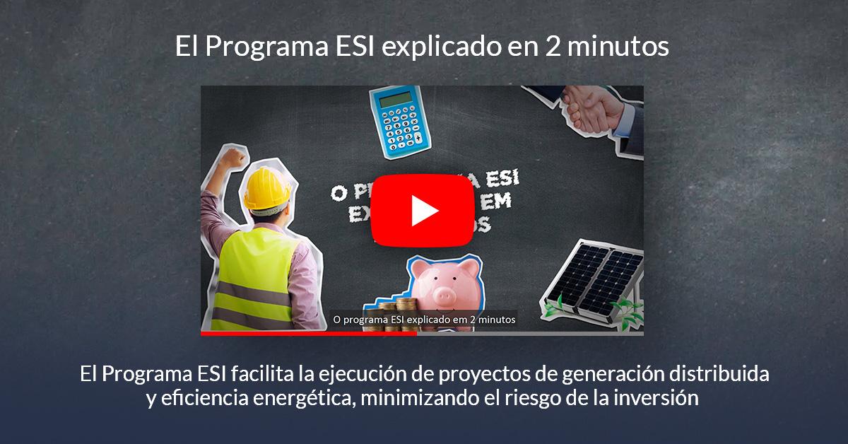 El Programa ESI explicado en 2 minutos