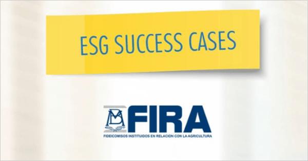 FIRA – Casos de Éxito ASG