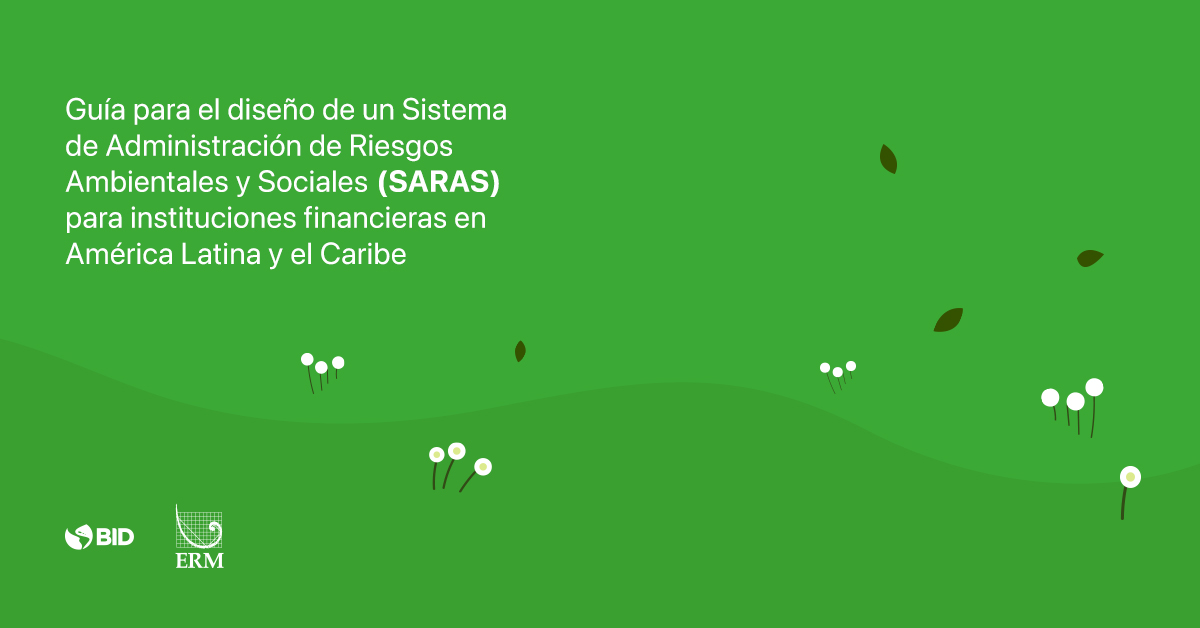 Manual for the design of an Environmental and Social risks Management System (ESMS) for financial institutions in Latin America and the Caribbean